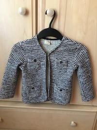 Navy , ivory and gold vest/blazer for girl 4\5 Laval, H7L 1W3