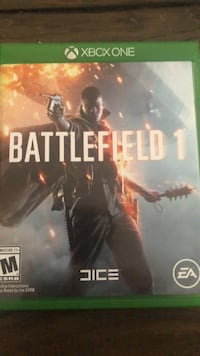 Battlefield 1 xbox one game case Guelph, N1E 0L7