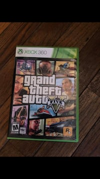 Grand theft auto five xbox 360 game case Arlington Heights, 60004