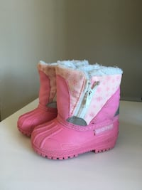 Pink Toddler Boots size 3