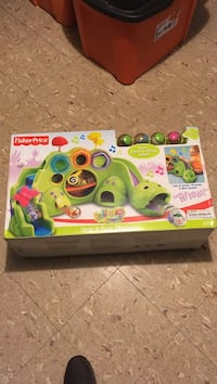 green fisher price drop and road dinosaur box Hempstead, 11756