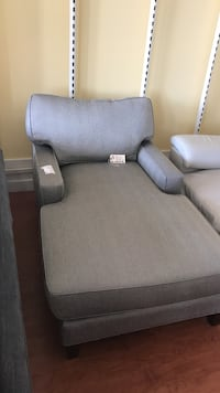 gray and white fabric sofa
