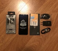 New Galaxy S8 with charger and 2 (two) sets of headphones Capitol Heights, 20743