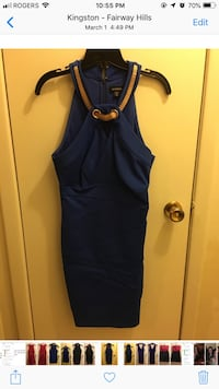 Le château. Size medium. Worn once. Comes with dust bag. Pick up only. Kingston, K7L