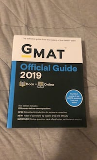 Wiley GMAT 2019 study guide  Toronto, M6H 1A3