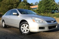 2007 honda accord lx 111k miles manual 4cyl clean carfax inspected
