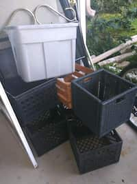 Used and new plastic container in Port St  Lucie - letgo