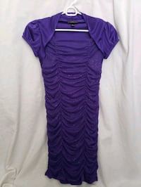 Bodycon style purple dress. Girl's size 16 Elkridge, 21075