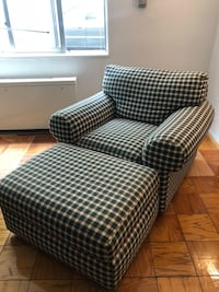 Gently used very comfortable armchair and ottoman Washington, 20005