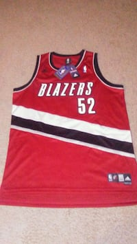 Portland Trail Blazers Greg Oden basketball jersey Lakewood