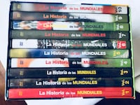 12 NEW DVD WORLD CUP 1930-2002 also extra 2006 and 2010 Orlando, 32824