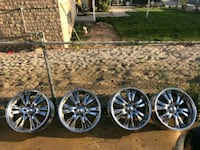 """22"""" chrome wheels West Valley City, 84120"""
