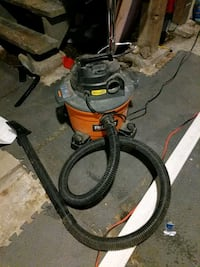 Ridgid shop vac. 6 us gallon size New Westminster, V3L