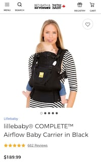 BABY CARRIER (Lille Baby Complete Airflow) still in box! Langley, V3A 0T9