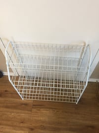 Metal shoe rack Cobourg, K9A 2L3