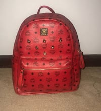 red and black MCM leather backpack Hyattsville, 20785