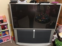 gray and black rear projection television Chester, 06412