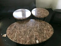 two round brown wooden tables South Bend, 46628