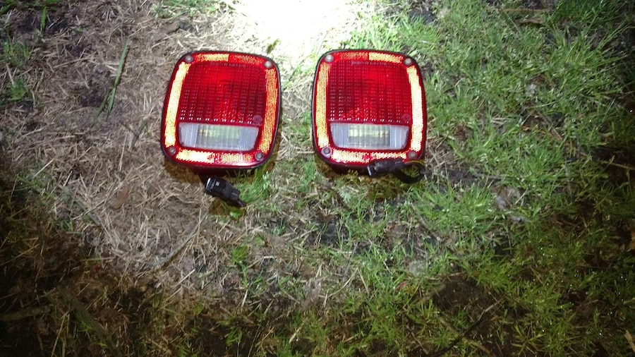 New Tail light assemblies both work great, upgraded to flush mount ...