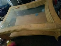 Glass top coffee table Bakersfield, 93305