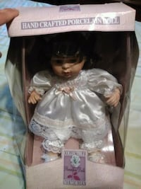 hand crafted porcelain doll pack