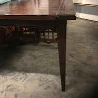 Real solid wood dining room table 465 mi