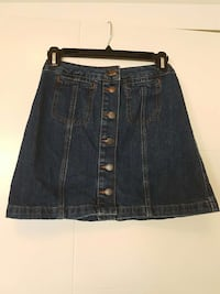 Top shop denim skirt  Calgary, T2G 5G3