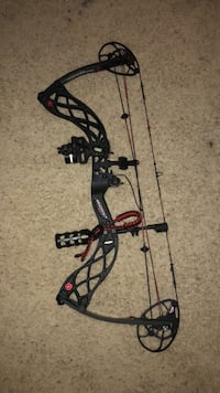 black and red compound bow Pearland, 77581