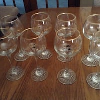 Olympic wine glasses Vaughan, L6A 1A7