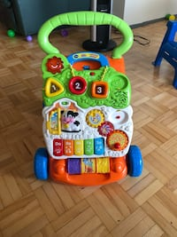 Vtech sit to stand learning walker( excellent cond Toronto, M9V 3T2