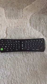 Keyboard remote control
