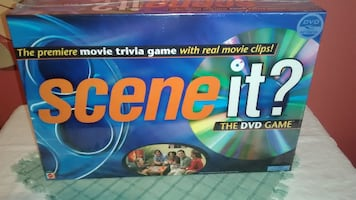 Scene it Movie DVD Trivia game