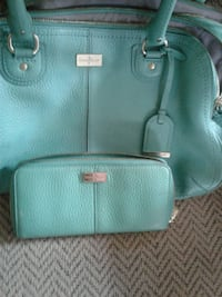beautiful leather cole Haan purse and wallet. In e Springdale
