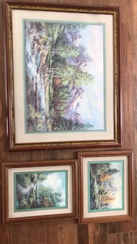 brown wooden framed painting of trees Coosada, 36020