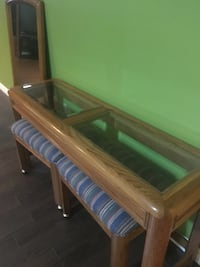 brown wooden bed frame with mattress St Thomas, N5R 0A4