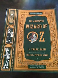 CENTENNIAL EDITION THE ANNOTATED WIZARD OF OZ BOOK Pickering, L1V 3V7
