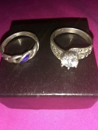 925 silver rings $50 for both Sacramento, 95832