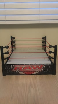 WWE RAW ring, with break away centre