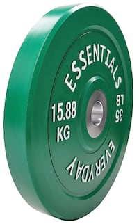 New olympic bumper weights 35 pounds