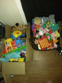 3 boxes full of all age toys.  Bryan