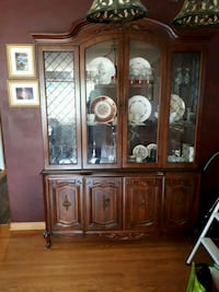 Dining room China cabinet...darker wook Brampton, L6T 2N1