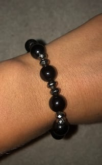 black and silver beaded bracelet Wilmington, 28403