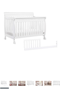 Crib /Day bed with mattress