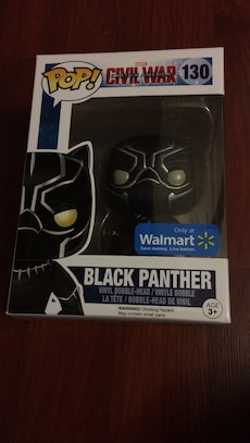POP Civil war Black Panther vinyl bobble head