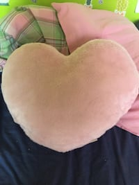 Pink heart pillow  Barrie, L4N 8L4