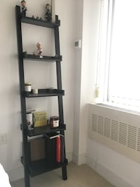 black wooden 5-layer shelf Arlington, 22202