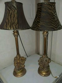 "32"" Brass SAFARI lamp 10lbs each Tampa, 33604"