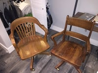 Pair or chairs for 50$ deal. Each separate for $30. Comfortable and in great condition.  Vancouver, V6R 4R5