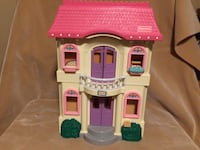 Fisher Price Loving Family dollhouse with accessories