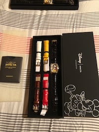 Mickey Mouse Invicta watches.